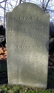 Eliza F Lancey