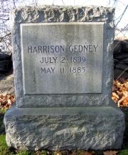 Harrison Gedney 1839 - 1885